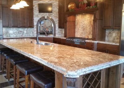 Granite custom (Lake of the Ozarks)